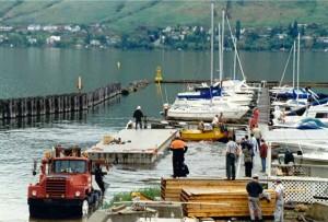 Pier work