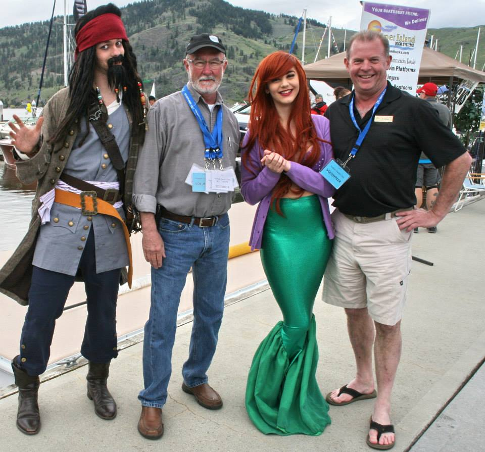Dream Party Production's Pirate and Arial with Rob Mathews and Al Cuttriss