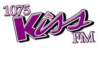1075 Kiss FM Logo