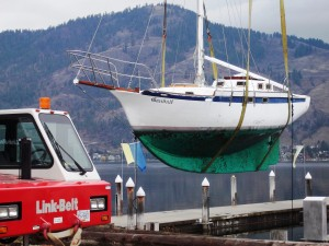 Sailboat Gandalf 2015 VYC Crane Day November 7 2015