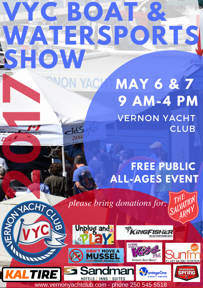 2017 VYC BOAT & WATERSPORTS SHOW POSTER