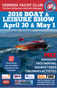 2016 VYC Boat Show Poster