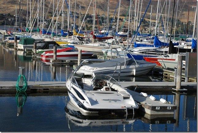 Vernon Yacht Club, BC, Docks