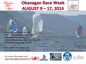 SYC to KYC OKANAGAN RACE WEEK -  @ Summerland and Kelowna Yacht Clubs | Summerland | British Columbia | Canada