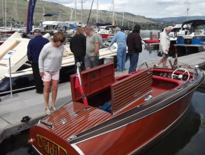 Absolute Classic Marine Diddit Boat at 2015 VYC Boat Show