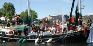 KYC Boat for Hope Event Jume 20 pirate boat photo