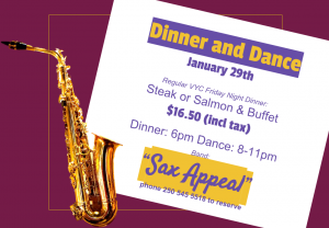 Sax Appeal January 10th 2016 2