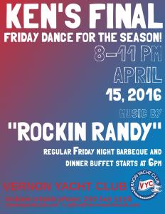 April 15 Dinner & Dance VYC 2016