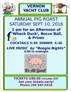 Pig Roast 2016 Poster