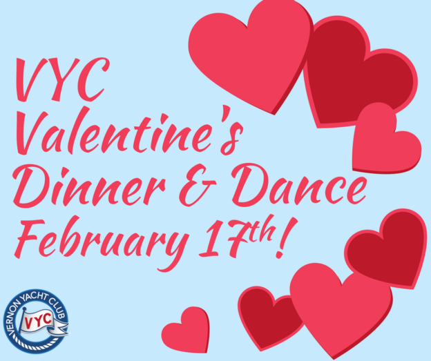 Vyc Valentines Dinner Dance Vernon Yacht Club
