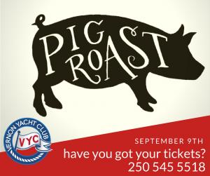 VYC PIG ROAST @ Vernon Yacht Club | Vernon | British Columbia | Canada